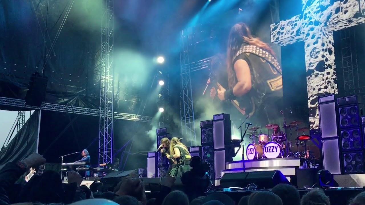 Ozzy Osbourne - Shot In The Dark - Rockfest Hyvinkää 6.6.2018 live - YouTube