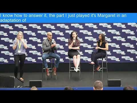 Captin America: Hayley Atwell & Stanley Tucci Panel HVFF London 2017