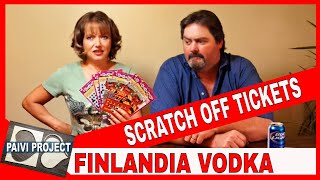 Finlandia cranberry vodka & Scratch off tickets(Scratching off some scratch off tickets and tasting Finlandia cranberry fusion vodka. Music by : Batty McFadden - Slower by Kevin MacLeod is licensed under a ..., 2015-10-25T01:55:12.000Z)