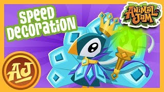 World of Fantasy Speed Den Decoration! | Animal Jam