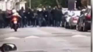 Dublin fight hooligans