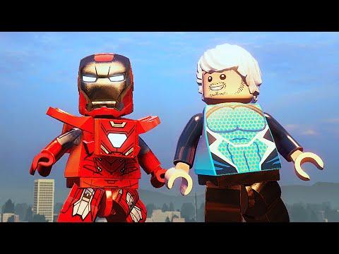 LEGO Marvels Avengers Прохождение - Часть 9 - ХАЛКБАСТЕР
