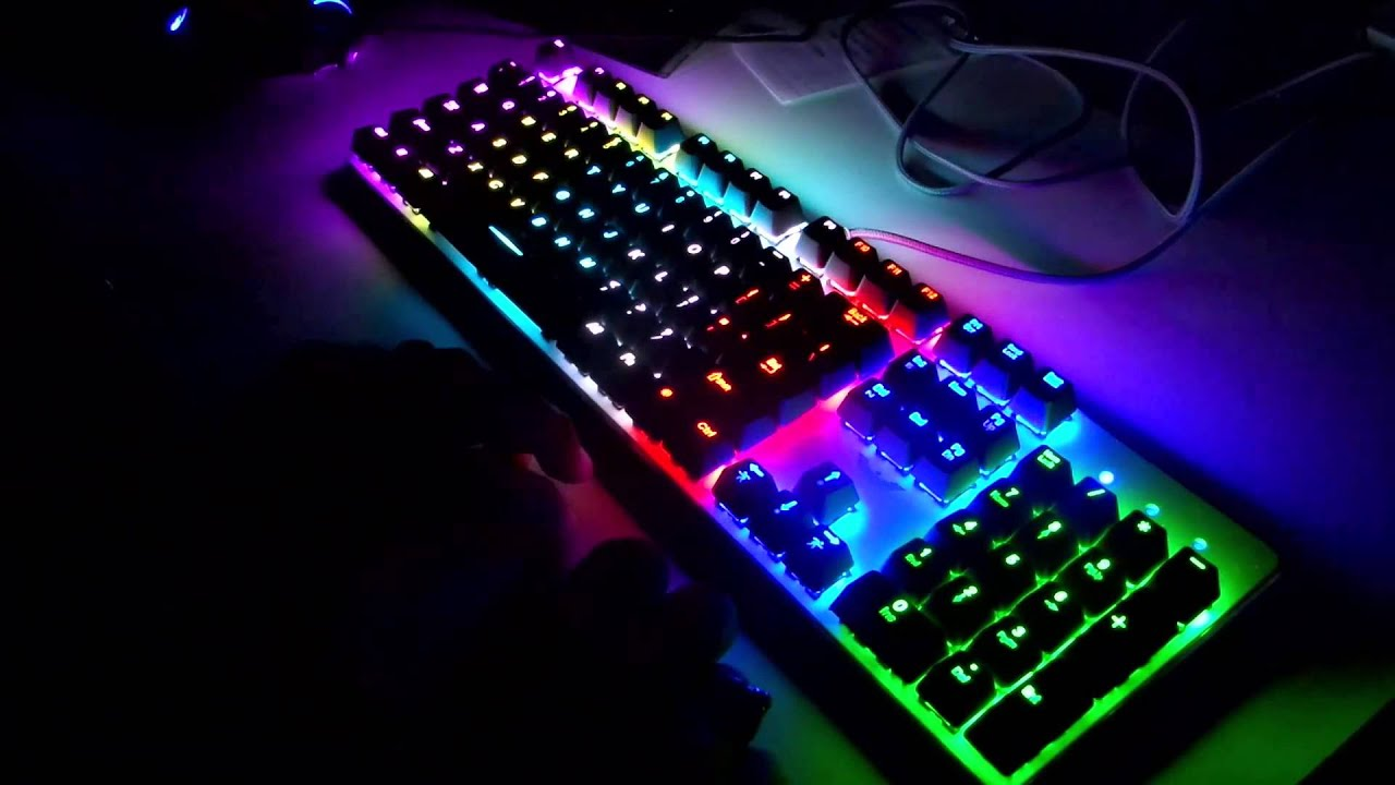 Purple And Black Wallpaper Designs Havit Magic Eagle Mechanical Keyboard Color Showcase And