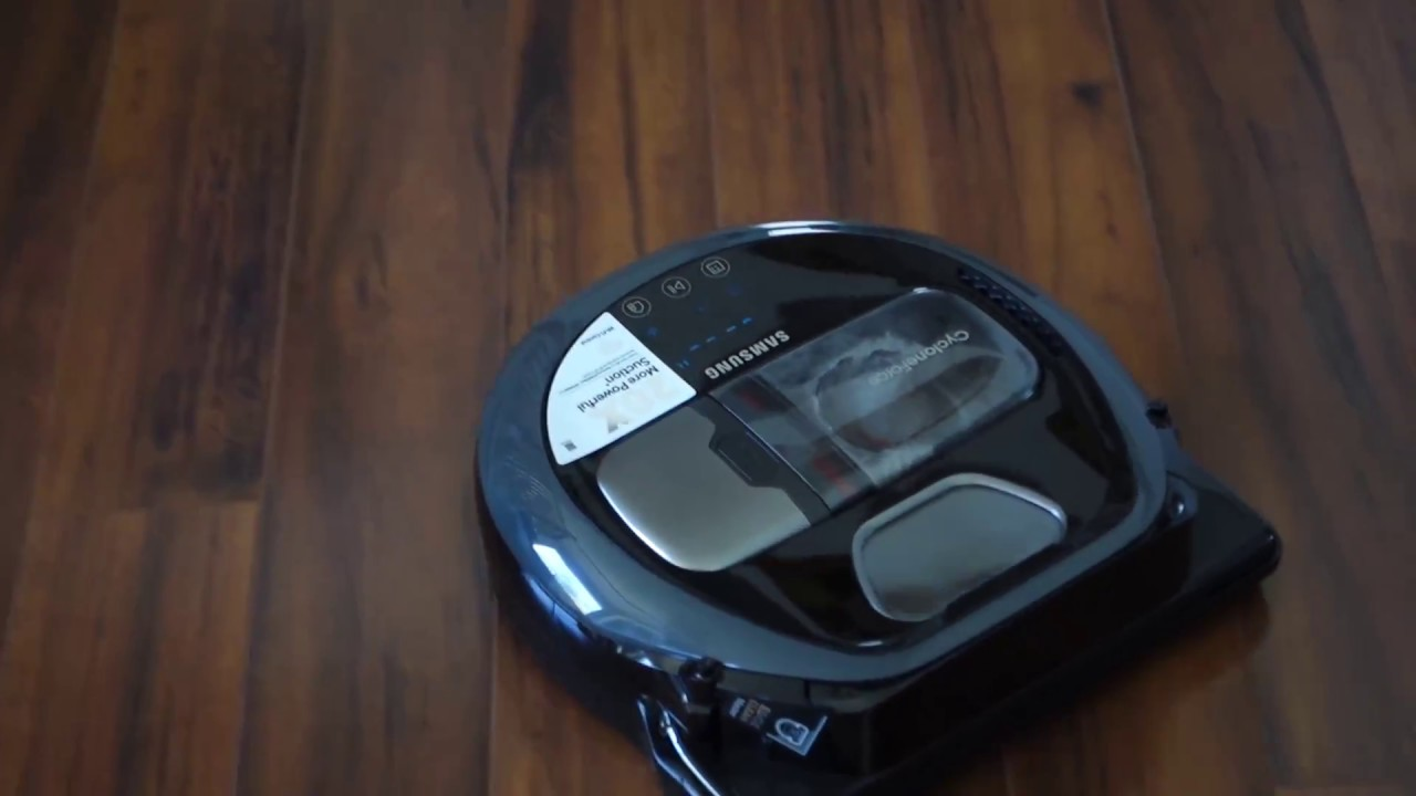Samsung Powerbot R7040 Robot Vacuum Demo Youtube
