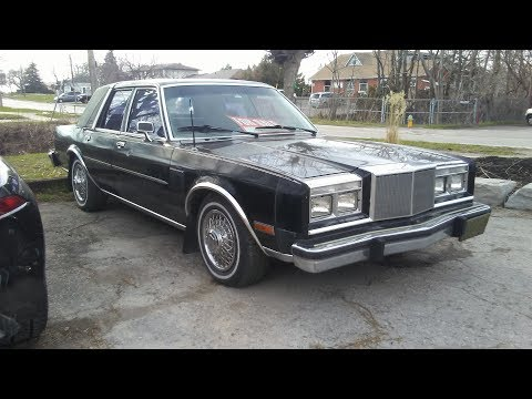 1986 Chrysler Fifth Avenue In Black Paint With A 5.2 Litre Engine - The Classics