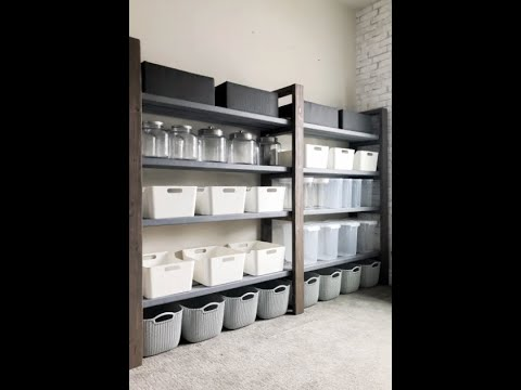Download Simple Pantry Shelving under $50
