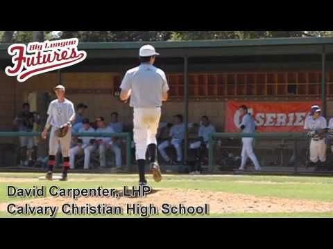 DAVID CARPENTER, LHP, CALVARY CHRISTIAN HIGH SCHOOL, PITCHING MECHANICS AT 200 FPS