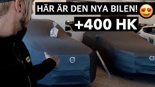 MICKE HÄMTAR UT SIN NYA VOLVO - ÖVER 400 HK!