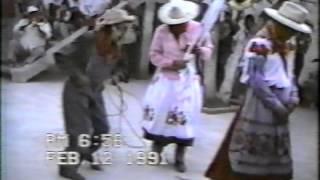 Torito de Carnaval en Huecorio 1991