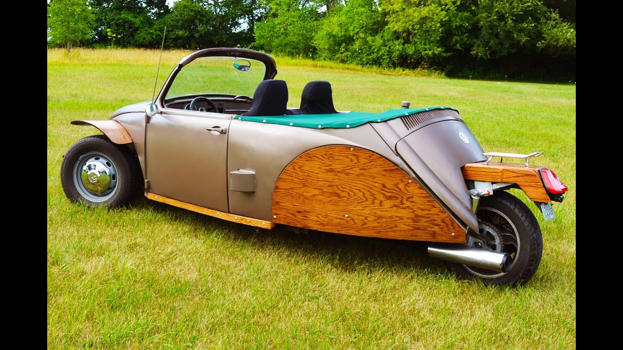 1967 VW Bug Trike with Sport Motorcycle Engine - Sold ...