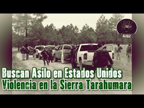 Tarahumaras piden asilo político en El Paso, Texas, por la violencia en sus comunidades