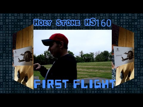 We Test out...and lose...the Holystone HS160 Video Drone Quadcopter... Fail