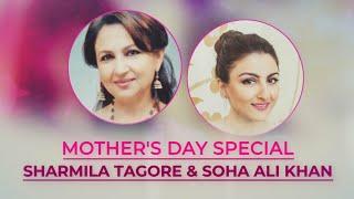 Sharmila Tagore & Soha Ali Khan take the Mother's Day quiz