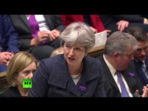 LIVE: Theresa May holds last PMQs before MPs break for Easter