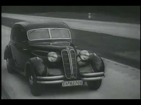 Bmw Cars In The 1930s Youtube