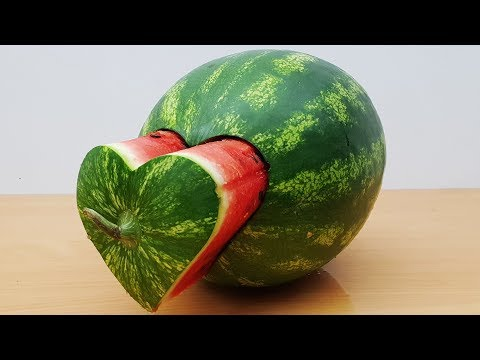 DIY Watermelon Heart