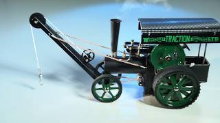 Wilesco D405 1 steam traction with crane