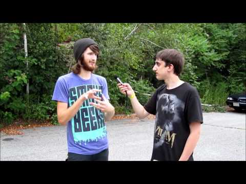 Interview with Steven from Iwrestledabearonce All Stars Tour Fitchburg, MA August 6, 2011