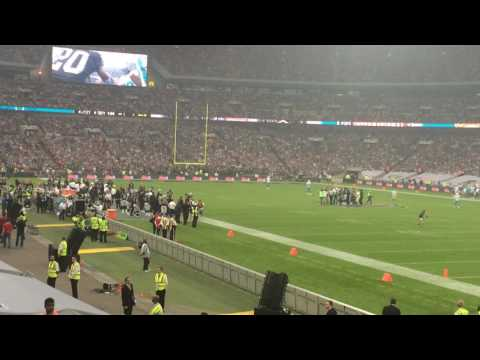 Miami Dolphins @ Oakland Raiders Wembley 2014 - Coin Toss