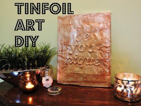 2-minute-diy:-tinfoil-art---cheap-&-chic!