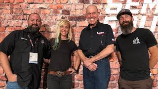 SEMA 2018 Education Sessions - Brew Talks Aaron Kaufman, Gale Banks and Jessi Combs Talk Cars [4K]