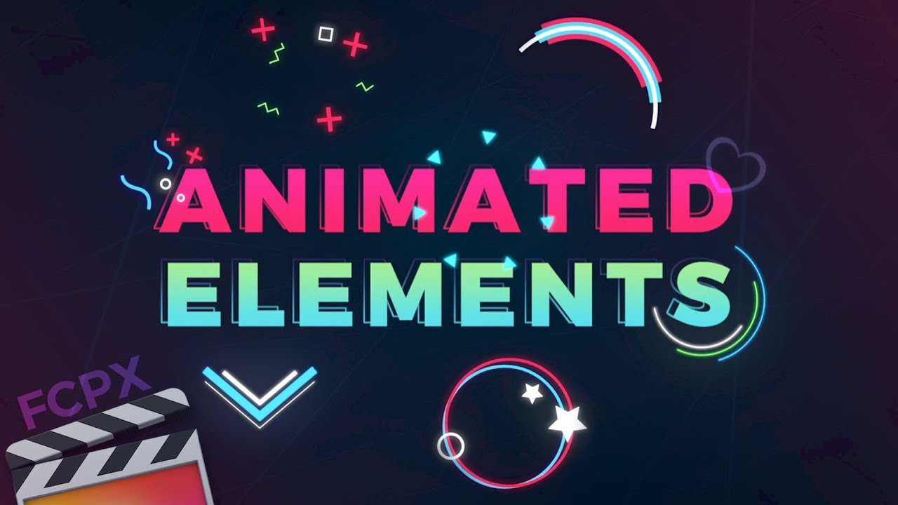 Animated Elements for Final Cut Pro