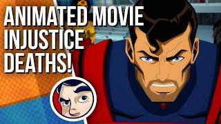 Injustice Can You Guess The Death? - Comics Experiment | Comicstorian