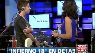 C5N - MUSICA EN VIVO: INFIERNO 18 EN DE 1 A 5