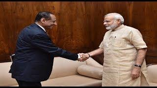 PM Modi meet with Governor Narasimhan heats up Politics in Two Telugu States