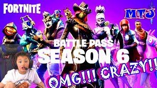 🍩 FORTNITE Season 6 six LIVE Gameplay Fans KID GAMER MinetheJ Fortnite Battle Royale Battle Pass