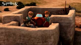 Gideon: Hiding From The Midianites - Superbook