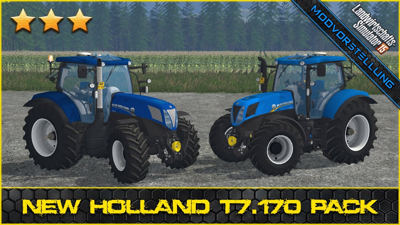 LS 15 Modvorstellung #403 ★ New Holland T7.170 Pack - YouTube