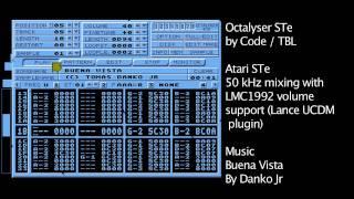 Atari ST/e trackers compared