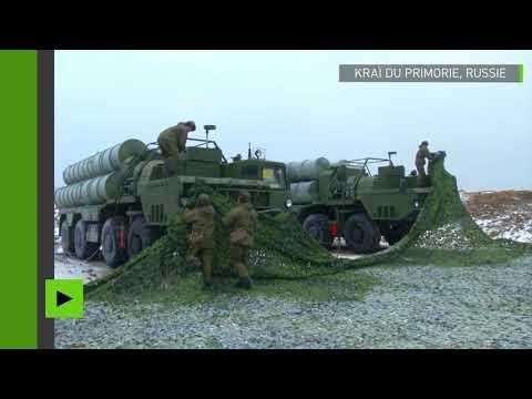 La Russie déploie des systèmes de défense antiaérienne S-400 à la frontière avec la Corée du Nord