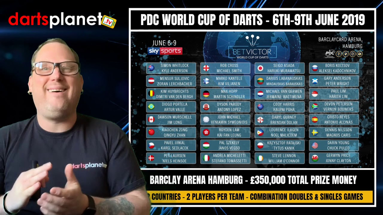 Pdc World Cup Of Darts