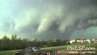 Lawton, OK Tornado Timelapse- April 17, 2013