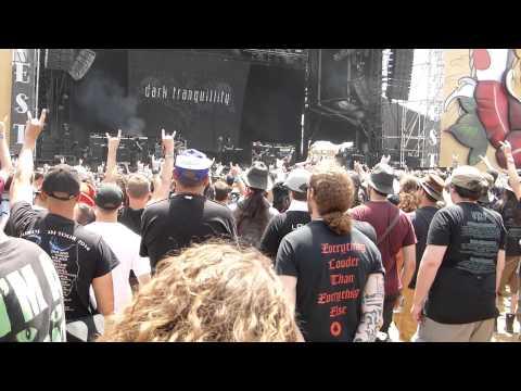 Dark Tranquillity live at Hellfest 2015