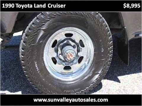 1990 toyota land cruiser used cars hailey id youtube. Black Bedroom Furniture Sets. Home Design Ideas