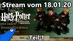 [Let's Stream] Harry Potter und der Gefangene von Askaban (Blind) - Teil 1 - Mehr Hogwarts-Spaß!