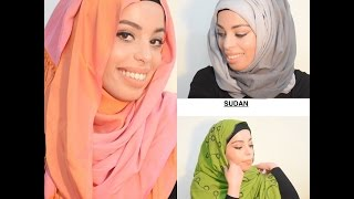 Video Hijab Styles From Around The World  | SPOONFULLOFHONEY download MP3, 3GP, MP4, WEBM, AVI, FLV Oktober 2018