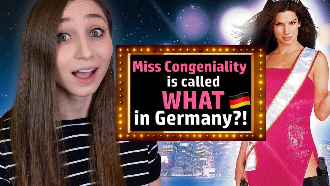 "15 Weird ""German"" Versions of English Movie Titles   German Girl in America"