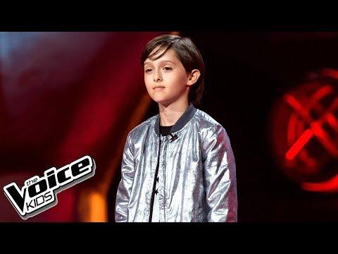 """Stasiek Kukulski - """"1000 metrów nad ziemią"""" - Przesłuchania w ciemno - The Voice Kids Poland 2"""