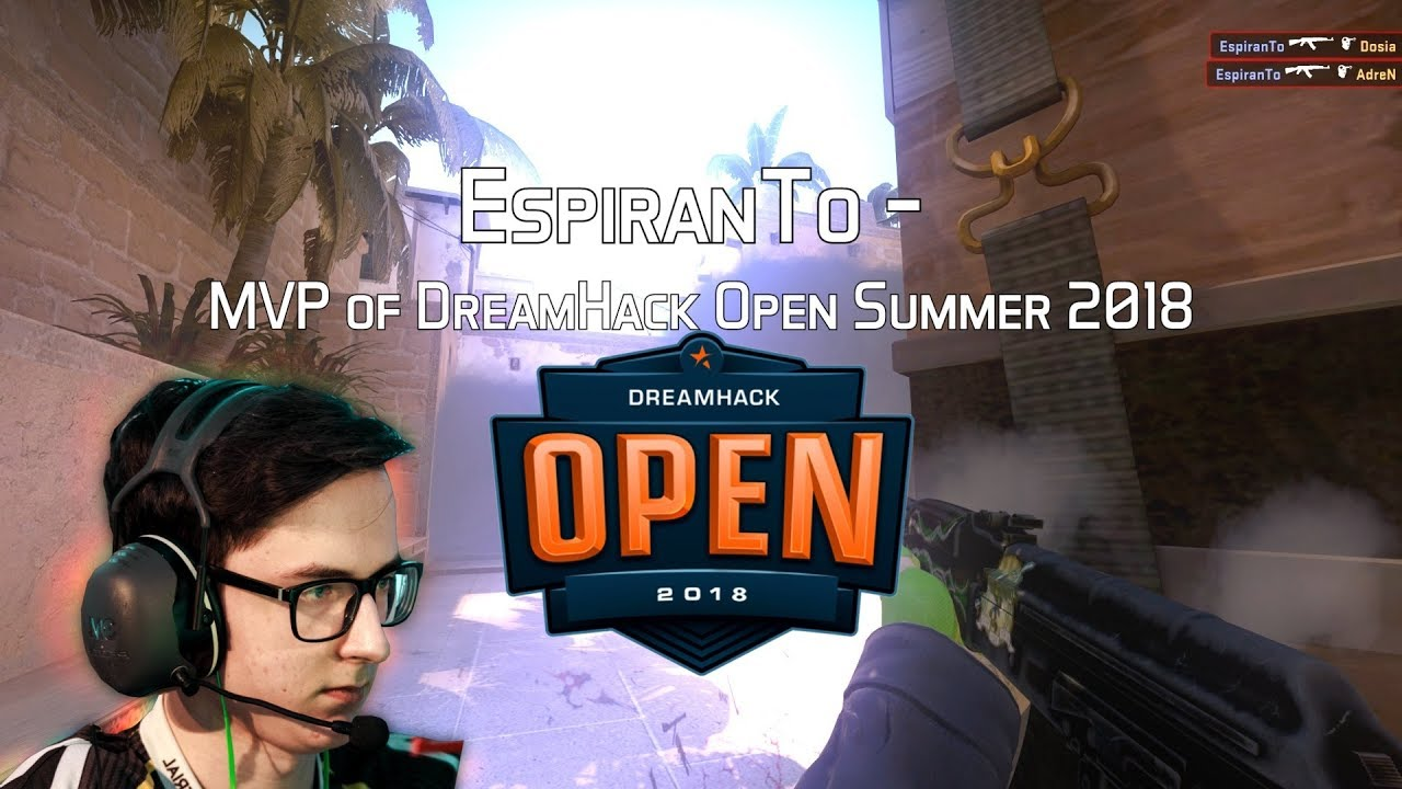 EspiranTo - HLTV MVP by Betway of DreamHack Open Summer 2018 Galerisi