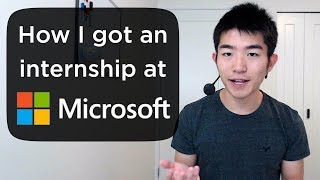 How I Got an Internship at Microsoft