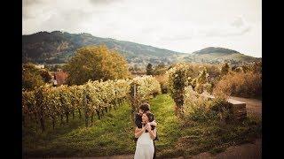Wedding day Staufen Germany