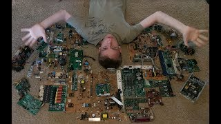 How To Get Cheap Electronic Components (Salvaging From Circuit Boards)