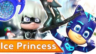 PJ Masks Creations 💜❄️ Frozen Ice Princess ❄️ Christmas Special | Play with PJ Masks