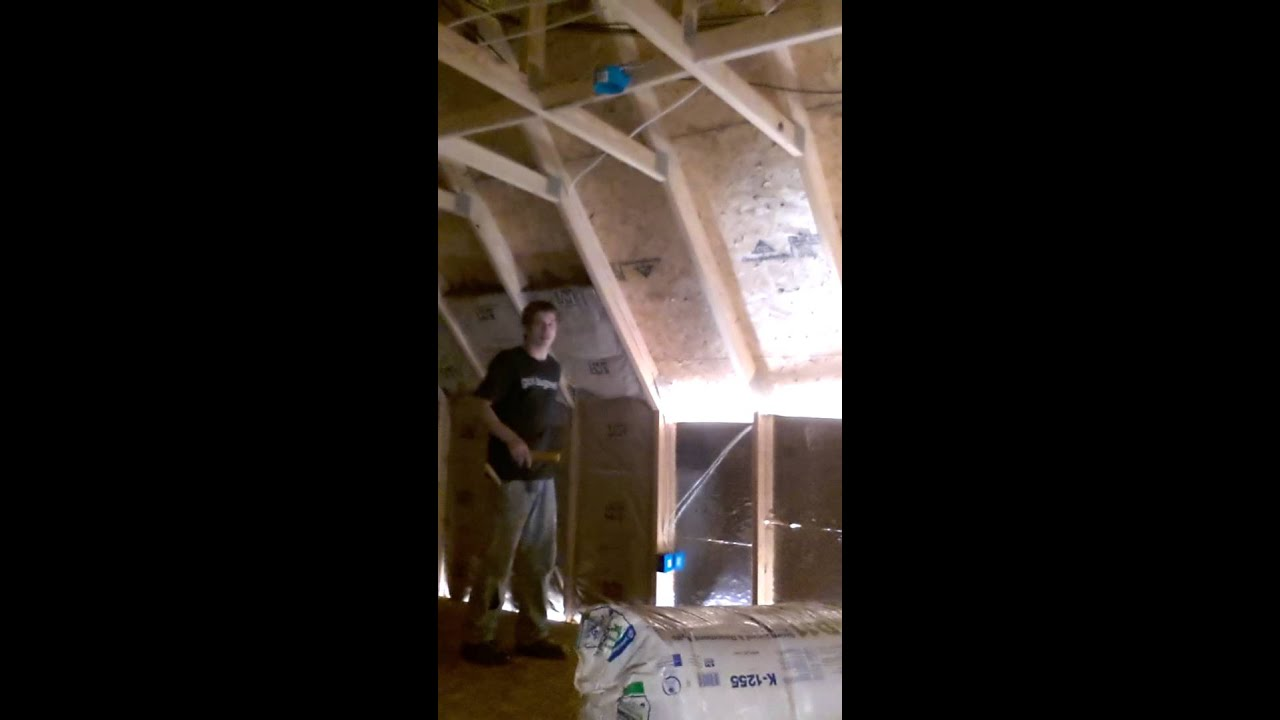 hight resolution of how to insulate a bonus room