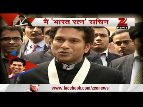 Sachin dedicates his Bharat Ratna to his mother, all mothers in India