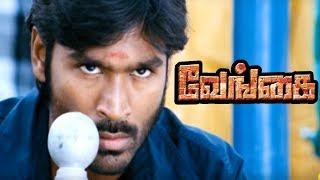 Venghai Scenes   Dhanush helps Y. Gee. Mahendran   Dhanush Fight scene   Dhanush Best Mass Scene